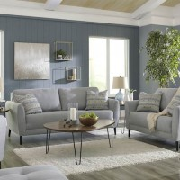 Cardello Steel Living Room Group