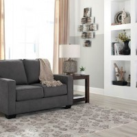 Zeb Charcoal Living Room Group