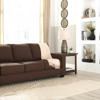 Zeb Espresso Living Room Group