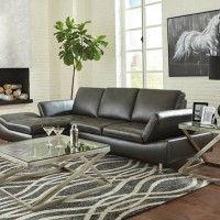 Carrnew Gray Sectional Living Room Group