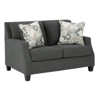 Bayonne Charcoal Loveseat