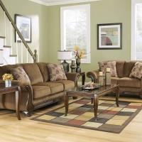 Montgomery Mocha Living Room Group