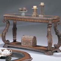Brown Sofa Table