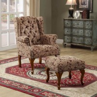 Light Brown Accent Chair