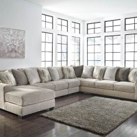 Ardsley Pewter Sectional Living Room Group
