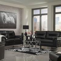 Tensas Black Living Room Group