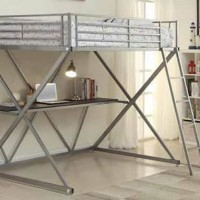 Workstation Loft Collection Bedroom Set