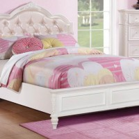Caroline Pink Twin Bed