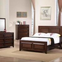 Greenough Maple Oak Full Bed