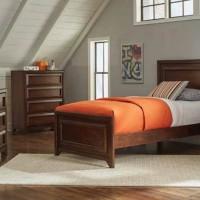 Greenough Maple Oak Twin Bed