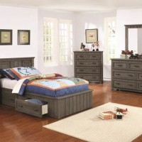Gunsmoke Twin Bed