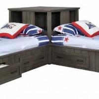 Gunsmoke Twin Bed Corner