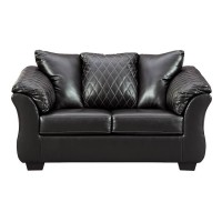 Betrillo Black Loveseat