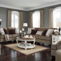 Braemar Brown Living Room Group