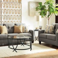 Daylon Graphite Living Room Group