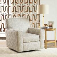 Daylon Graphite Swivel Accent Chair