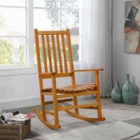 Warm Brown Rocking Chair
