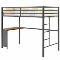 Twin Workstation Loft Honey Bunk Bed