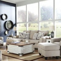 Abney Driftwood Living Room Group