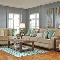 Lochian Bisque Living Room Group