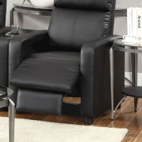 Toohey Home Theater Black Recliner