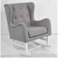Grey Rocking Chair