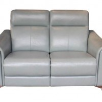 Alberta Dark Seafoam Power Loveseat