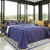 Forsan Nuvella® White Queen Sofa Sleeper