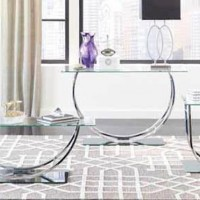 Avison Chrome Coffee Table