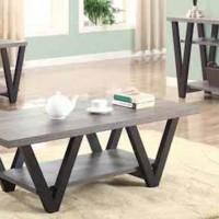 Black /Gray Sofa Table