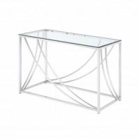 Chrome Sofa Table