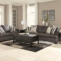 Levon Charcoal Living Room Group