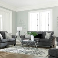 Agleno Charcoal Living Room Group