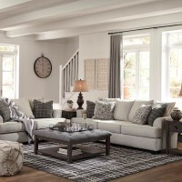 Velletri Pewter Living Room Group