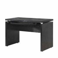 Black Oak Computer Desk