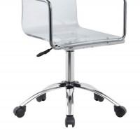Amaturo Clear Acrylic Office Chair