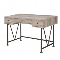Grey Driftwood Writing Desk