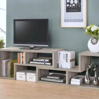 Grey Driftwood Bookcase