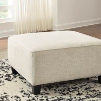 Abinger Natural Oversized Accent Ottoman