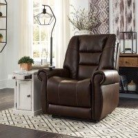 Kleve Chocolate Power Lift Recliner