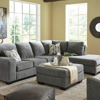 Dalhart Charcoal Sectional Living Room Group