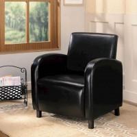 Dark Brown Accent Chair