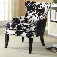 Black+White Accent Chair