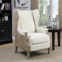 Cream /Beige Accent Chair