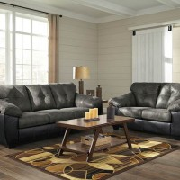 Gregale Slate Living Room Group