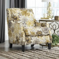 Mandee Pewter Accent Chair