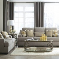 Mandee Pewter Living Room Group