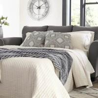 Domani Charcoal Queen Sofa Sleeper