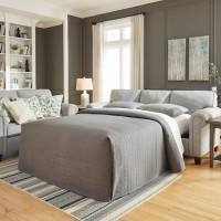 Alandari Gray Queen Sofa Sleeper