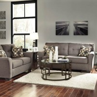 Tibbee Slate Living Room Group